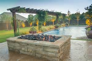 large gas pit fireplaces pits large rectangular pit