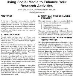 How To Focus On Writing A Research Paper by Using Social Media To Enhance Your Research Activities Uk Web Focus
