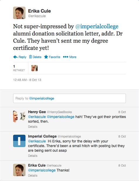 Imperial College Acceptance Letter blogging beyond occam s typewriter