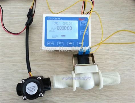 G 12 Water Flow Sensor Sensor Aliran Air aliexpress buy g1 2 quot flow rate water sensor meter