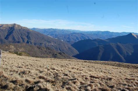 trekking pavia trekking al monte chiappo santa margherita di staffora pv