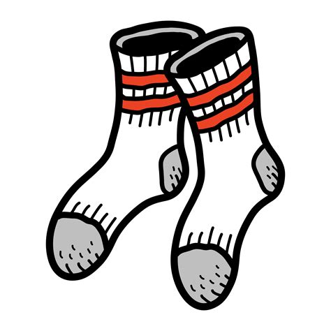 socks clothing  feet   vectors clipart