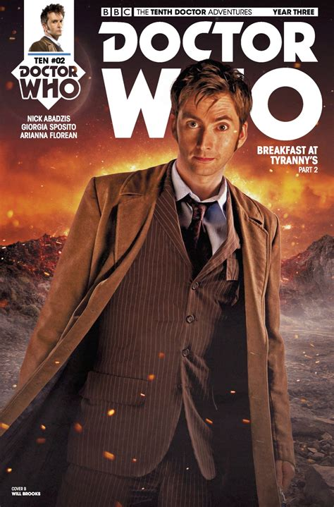 The Tenth comiclist preview doctor who the tenth doctor year three 2