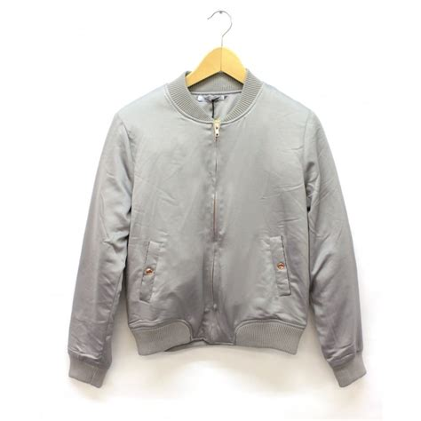 Jaket Bombber Scrimmer Light Grey Jaket Bomber Jaket Bomber buy glamorous bomber jacket in light grey