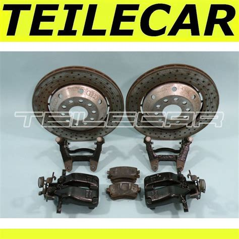 Audi Rs Bremssattel by Audi Rs6 Bremss 228 Ttel Ha Rear Brake Calipers Teilecar