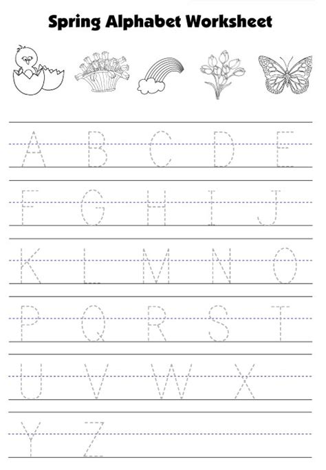 printable letters spring number names worksheets 187 tracing uppercase letters free