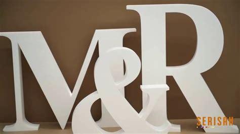 letras grandes decoracion c 243 mo hacer letras gigantes para bodas