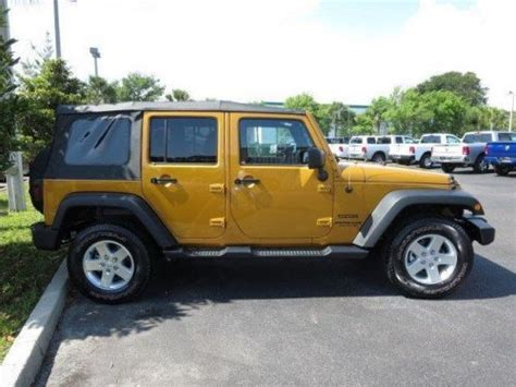 Jeep St Augustine Sell New 2014 Jeep Wrangler Unlimited Sport In 2330 Us 1