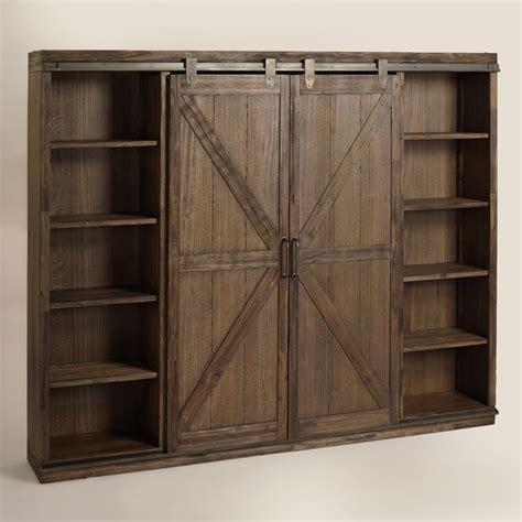 swinging bookcase door 25 best ideas about old barn doors on pinterest hanging