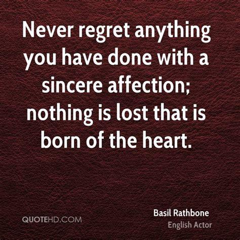 Regret Quotes Sinceres Regret Quotes Quotesgram