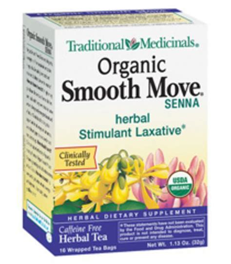 Detox Tea Smooth Move by Traditional Medicinal Organic Smooth Move Laxative Senna