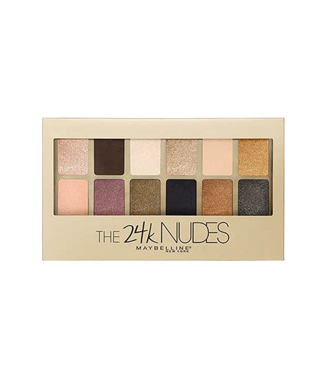 Maybelline Eyeshadow The 24k bảng phấn mắt maybelline the 24k eyeshadow palette