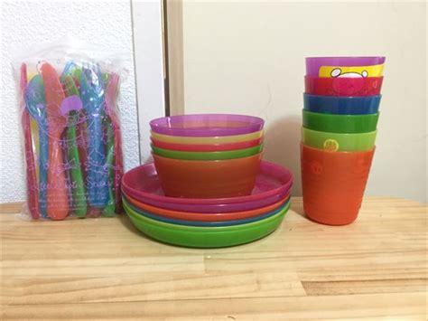 Ikea Kalas ikea kalas のプラスチック食器は子供のおままごとにも使える おにぎりフェイス