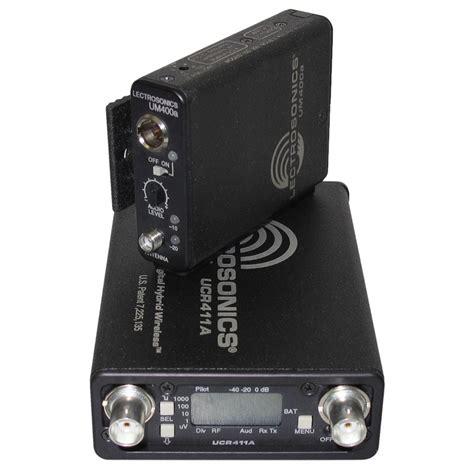 Lectrosonics Ucr411a Wireless Receiver lectrosonics ucr411a um400a wireless system location sound