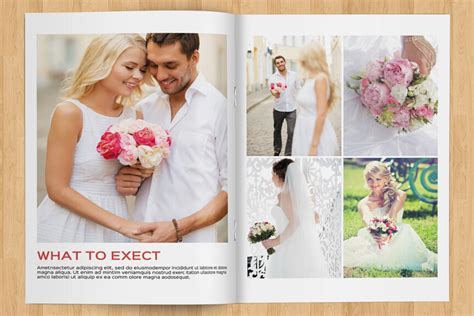 10 Professional Wedding Magazine Templates For Photographers Wedding Photography Magazine Template