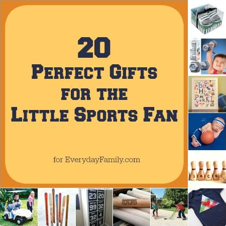 gifts for him sports fan 20 perfect gifts for the little sports fan everydayfamily