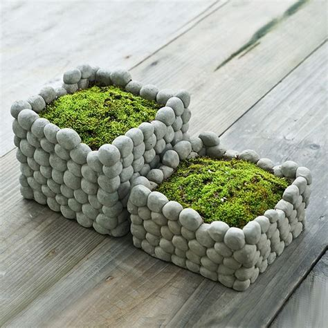 how to make cement planters best 25 cement planters ideas on diy cement
