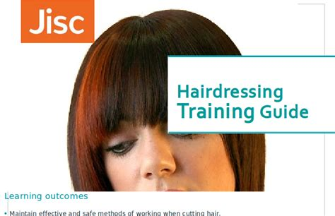 hairdressing training courses learn how to cut hair from hairdressing training jisc