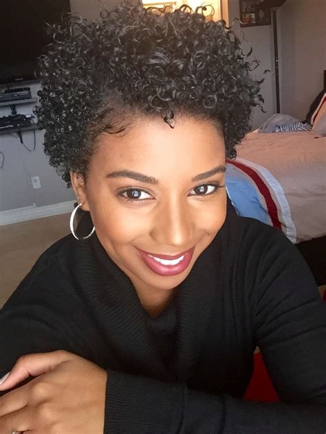 wash and go for 3c short hair wash n go big chop pinterest natural hair style and