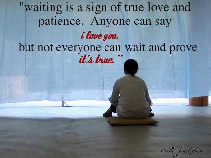 christian quotes  waiting  true love quotesgram