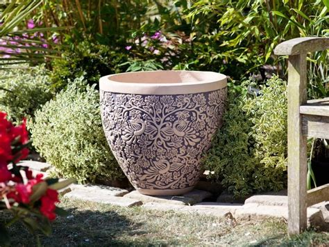 Large Planters Large Planters Can Be Offset From Each Patio Garden Planters