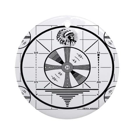 test pattern circle test pattern ornament round by pastfutures