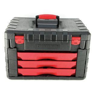 Craftsman Three Drawer Tool Box by Craftsman 3 Drawer Tool Storage Box For 263pc Tool Set