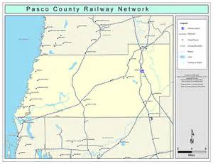 pasco county railway network color 2009