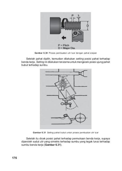 Pahat Bubut Karbida mengenal proses bubut teknik mesin