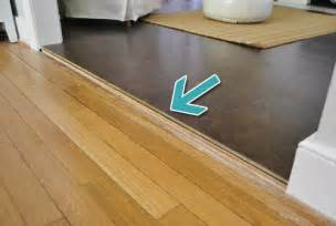 how to add floor trim transitions and reducers young house love