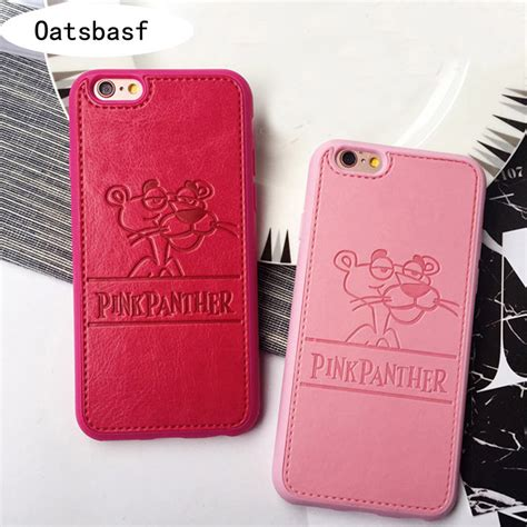 Pink Iphone Cases On The Cheap by Retail Pu Leather Panthera For Iphone 5s 5se