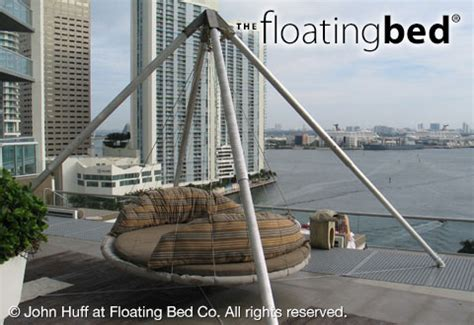 outdoor floating bed outdoor hanging bed hammock bed for sale the floating bed co