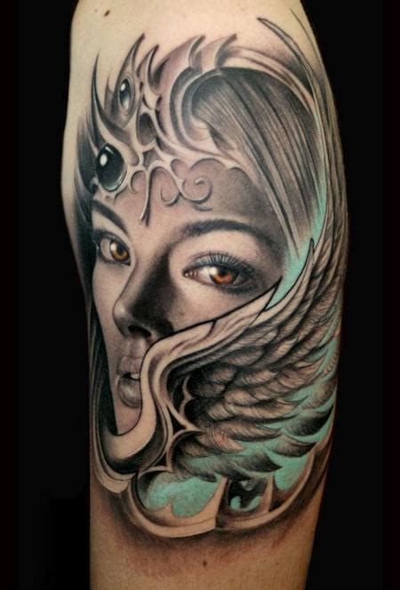valkyrie wings tattoo valkyrie wing by rember age studio