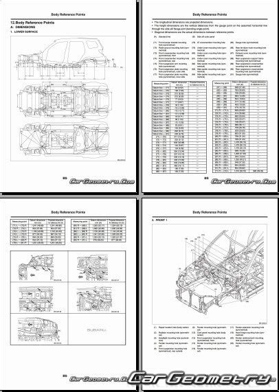 car maintenance manuals 2012 subaru forester parking system кузовные размеры subaru forester sh 2008 2012 body repair manual
