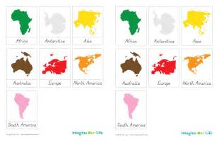Printable 7 Continents Of The World » Home Design 2017