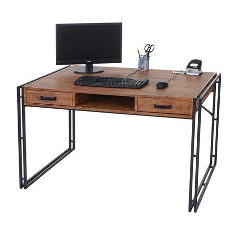 scrivania ufficio scrivania per ufficio olaf cm 121x70 in legno e metallo