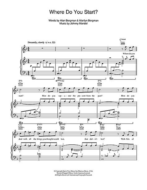 rosemary clooney vocal range where do you start sheet music by rosemary clooney piano