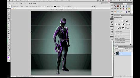 photoshop cs5 tutorial change face photoshop cs5 tutorial how to change the color of a tron