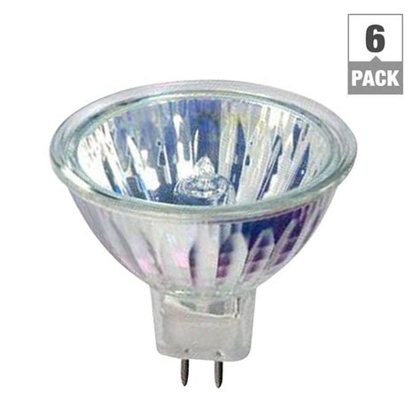 Lu Philips Halogen 1000 Watt philips 50 watt halogen mr16 light bulbs 6 pack 406009