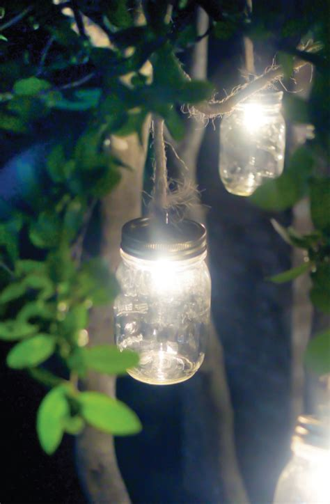mason jar craft outdoor lights mason jar crafts