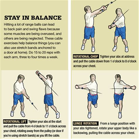 gym exercises for golf swing golf exercises and stretches ralph simpson pt ocs