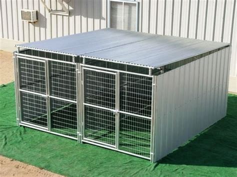 heavy duty kennel kennel roof e kennel covers 10 x 10 med pitch 3 truss