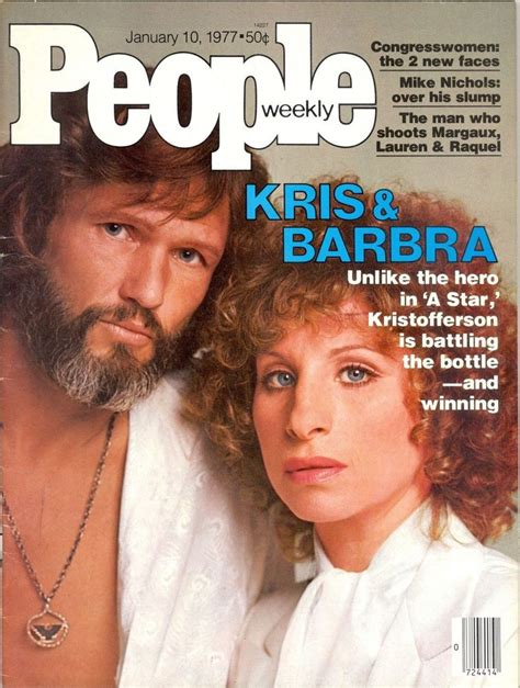 best magazine 1977 cover kris barbra i had this because i