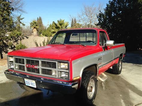 1984 gmc 3 4 ton 4x4 6 2l diesel rust free chevrolet c k