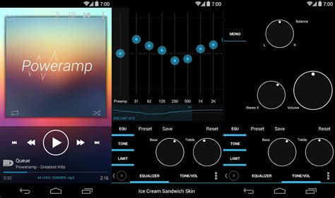 theme creator music player skin for power kk jb ics android apps on google play