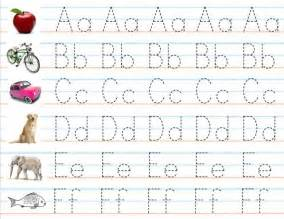 Letter writing practice sheets reocurent