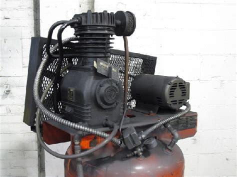itw devilbiss papv 5051 air compressor 5 hp ebay