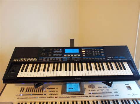 Keyboard Roland Exr 5s roland exr 40 or image 382461 audiofanzine