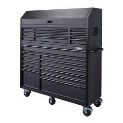 Husky 56 in 23 drawer tool chest and rolling cabinet set textured