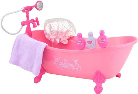bathtub dolls my girl 18 quot doll bath tub set